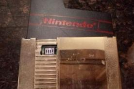 Insólito: Venden cassette NES a 100.000 dólares