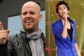 Gian Marco fue fiel seguidor de Daniel Lazo durante 'La Voz Perú'