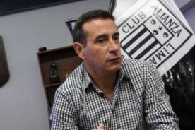 Guillermo Sanguinetti: Alianza Lima  no tiene un estilo de juego uruguayo