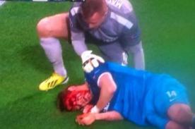 Robert Lewandowski agrede en el rostro a jugador del Zenit - VIDEO
