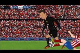 Atlético de Madrid vs. Barcelona: Mira la genial parodia del encuentro - VIDEO