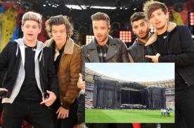 One Direction en Perú: Así será el escenario del concierto (Fotos)