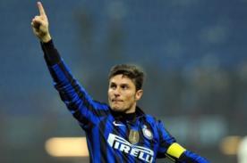 Javier Zanetti colgará los chimpunes al final de la temporada