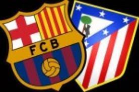 Barcelona vs Atlético de Madrid - Hinchas en el Camp Nou