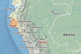 Temblor en Lambayeque: Sismo se registró en el norte del país