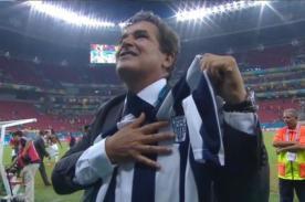 Mundial 2014: Alianza Lima envía carta de felicitación a Jorge Luis Pinto