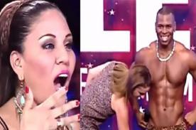 PTT: Natalia Málaga y Dina Paucar enloquecieron con bailarín [VIDEO]