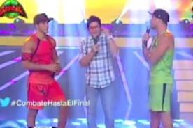 Combate:  Mario Irivarren y Pancho se dicen sus verdades en rap [VIDEO]