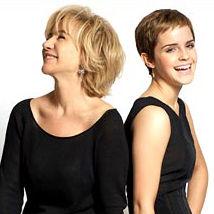 Emma Watson es elogiada por su estilo por la diseñadora Alberta Ferretti