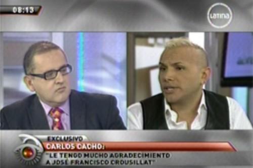 Carlos Cacho: En el penal, tenían miedo de lo pudiera pasarme