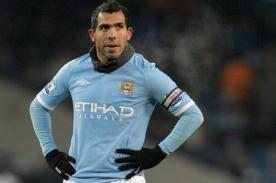 Carlos Tévez se siente prisionero del Manchester City