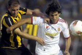 Goles del Caracas vs Peñarol (1-1) - Copa Libertadores 2012