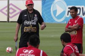Fútbol Peruano: Roberto Palacios entrenó con la selección