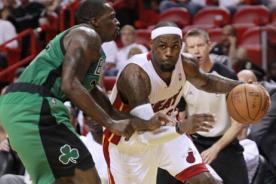 NBA: Miami vence en la primera final del Este a los Celtics - Video