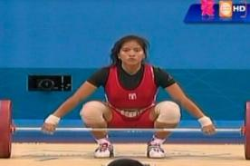 Peruana Silvana Saldarriaga quedó fuera de las Olimpiadas 2012