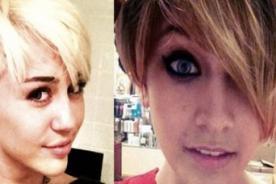 Hija de Michael Jackson luce con un look similar a Miley Cyrus