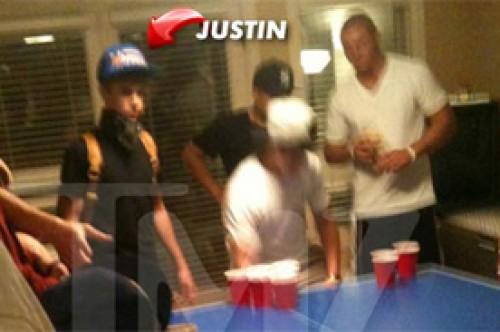 Justin Bieber habría bebido alcohol en fiesta con universitarios (Foto)