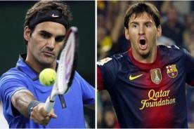 Camiseta de Lionel Messi cuesta menos que raqueta de Roger Federer