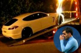 Manchester City: Carlos Tévez se quedó sin su Porsche Panamera