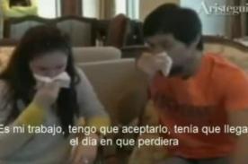 Video: Manny Pacquiao llora al recordar pelea con Juan Manuel Márquez