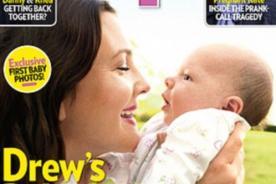 Drew Barrymore presenta a su bebé