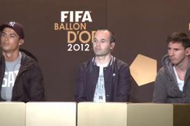 FIFA define al Balón de Oro entre Messi, Cristiano Ronaldo e Iniesta