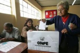 Revocatoria 2013: No se realizará conteo rápido de la consulta popular