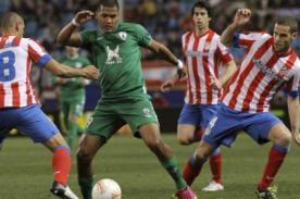 Gol del Rubin Kazan vs Atlético Madrid (0-1) - UEFA Europa League - Video