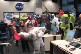 La NASA se contagia de la fiebre del Harlem Shake - Video