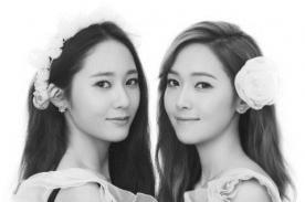 Las hermanas Krystal y Jessica deslumbran en foto publicitaria