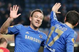 Chelsea: Hazard y Terry se perderían la final de la Europa League