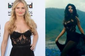 Jennifer Morrison copia a Selena Gomez en vestido de 'Come & get it'