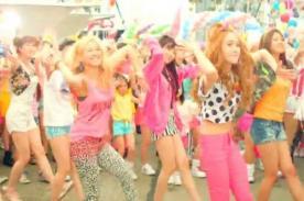 Girls Generation bailó con sus fans para promocionar presentación - Video