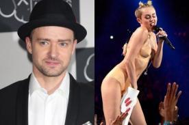 Justin Timberlake aboga por Miley Cyrus: Déjenla hacer lo suyo
