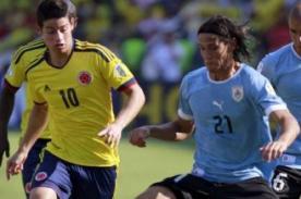 A qué hora juega Uruguay vs Colombia por Eliminatorias Brasil 2014