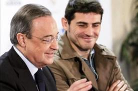 Real Madrid: Florentino Pérez dejaría que Iker Casillas se vaya del club
