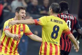 Video de goles: Barcelona sometió 3-1 al Milan - Champions League