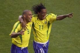 Video: ¿Cuál de estos cracks es mejor: Ronaldo o Ronaldinho?