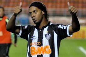 Ronaldinho fue elegido como el nuevo 'Rey de América 2013'