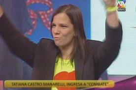 Combate: ¿Tatiana Castro Manarelli no seguiría en el reality en el 2014?