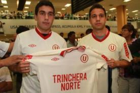 Universitario se despide de Diego Guastavino y Sebastián Fernández