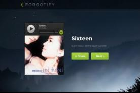 Forgotify: El portal web para descubrir las canciones que nadie escuchó