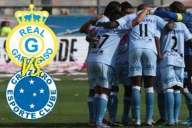 En vivo: Real Garcilaso Vs Cruzeiro por Fox Sports 2 - Copa Libertadores