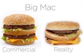Publicidad vs realidad: La verdadera apariencia de McDonald's - VIDEO