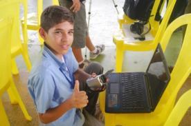 Brasil: Niño mantiene website de noticias con más de un millón de visitas