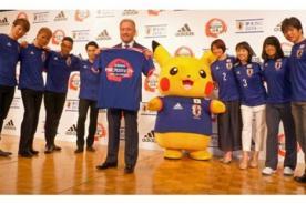 Mundial Brasil 2014: Pokémon es la nueva imagen de la selección de Japón - FOTOS