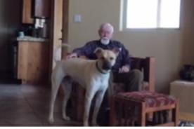 Perro logra que hombre con Alzheimer avanzado hable de nuevo - VIDEO