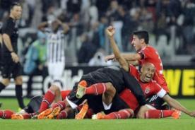 Benfica igualó 0-0 con Juventus y clasificó a la final de la Europa League