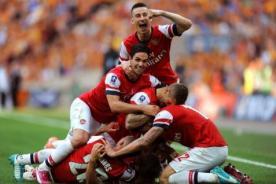 Arsenal campeón de FA Cup luego de 9 años
