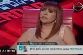 La Hora de la Verdad: Magaly Medina le admite a Beto Ortiz que se excedió con la hija de Gisela